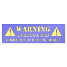 Homeschool Bumper Sticker