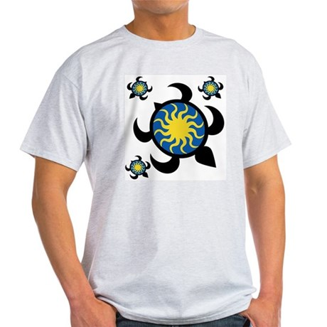 Sun Turtles Light T-Shirt