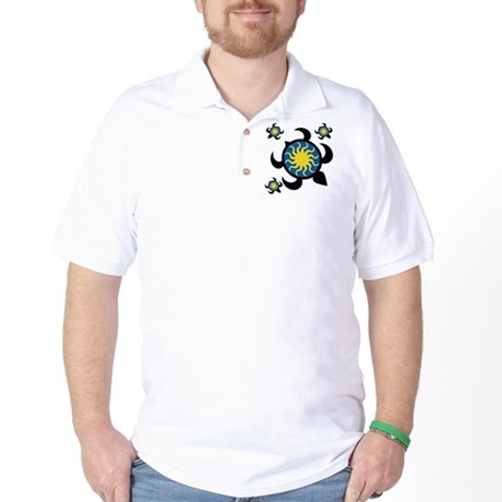 Sun Turtles Golf Shirt