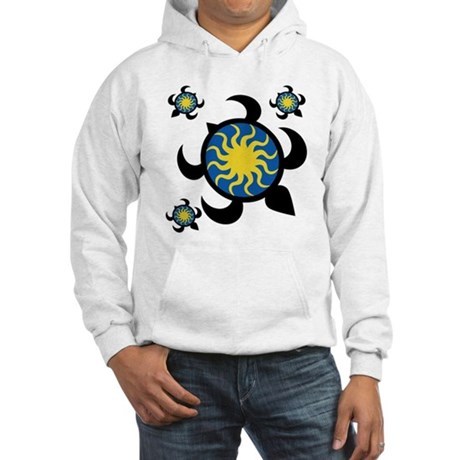 Sun Turtles Hooded Sweatshirt