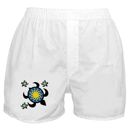 Sun Turtles Boxer Shorts