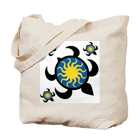 Sun Turtles Tote Bag