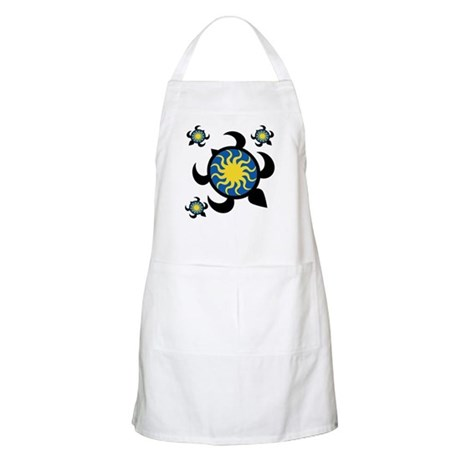 Sun Turtles Apron