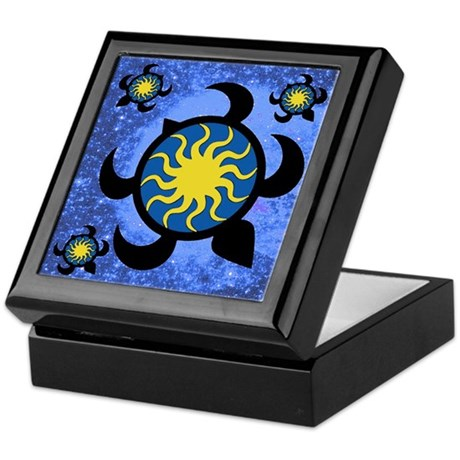 Sun Turtles Keepsake Box