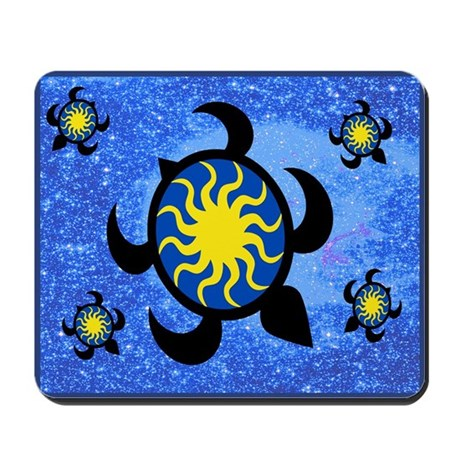 Sun Turtles Mousepad