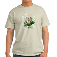 Frogs Rule Toads Drool Ash Grey T-Shirt