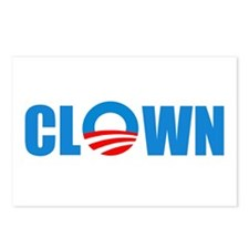 Anti Obama! Clown Postcards (Package of 8)