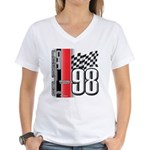 Mustang 1998 Women's V-Neck T-Shirt