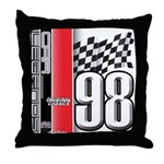 Mustang 1998 Throw Pillow