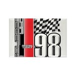 Mustang 1998 Rectangle Magnet (100 pack)