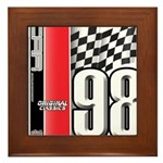 Mustang 1998 Framed Tile