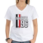 Mustang 1996 Women's V-Neck T-Shirt