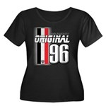 Mustang 1996 Women's Plus Size Scoop Neck Dark T-S