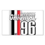 Mustang 1996 Rectangle Sticker 50 pk)
