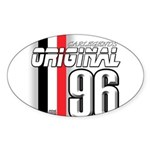 Mustang 1996 Oval Sticker (10 pk)