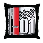 Mustang 2001 Throw Pillow