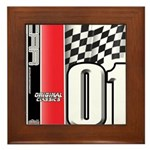 Mustang 2001 Framed Tile