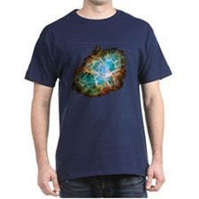 Crab Nebula 2005 Black T-Shirt