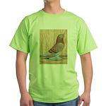 WOE Red Checker Green T-Shirt