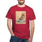 WOE Red Checker Dark T-Shirt