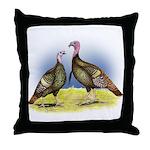 Rio Grande Wild Turkeys Throw Pillow