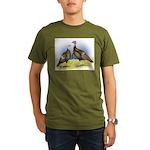 Rio Grande Wild Turkeys Organic Men's T-Shirt (dar