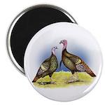 Rio Grande Wild Turkeys Magnet