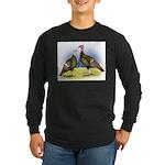 Rio Grande Wild Turkeys Long Sleeve Dark T-Shirt