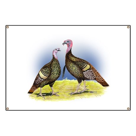 Rio Grande Wild Turkeys Banner