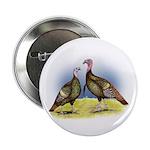 """Rio Grande Wild Turkeys 2.25"""" Button"""