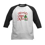 World's Greatest Mommy Kids Baseball Jersey