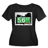 56 STREET, QUEENS, NYC Women's Plus Size Scoop Nec