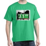 31 AVENUE, QUEENS, NYC T-Shirt