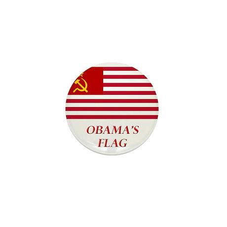 Obama's New Flag Mini Button (100 pack)