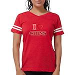 Guineas On Opal Organic Kids T-Shirt (dark)