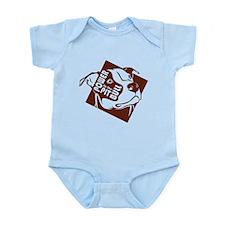 Power to the Pit Bull Infant Bodysuit