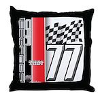 Mustang 1977 Throw Pillow