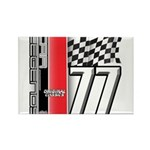 Mustang 1977 Rectangle Magnet (100 pack)