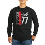 Mustang 1977 Long Sleeve Dark T-Shirt