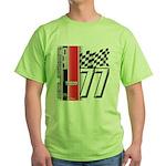 Mustang 1977 Green T-Shirt