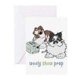 Jersey Wooly Show Prep Greeting Cards (Pk of 10)