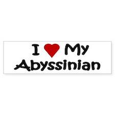 Abyssinian Bumper Bumper Sticker