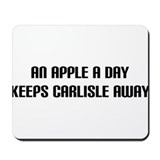 &quot;An Apple a Day&quot; Mousepad