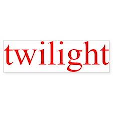 """Twilight"" Bumper Bumper Sticker"