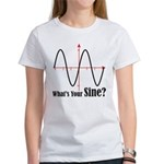 What's Your Sine? Women's T-Shirt