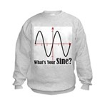 What's Your Sine? Kids Sweatshirt