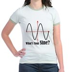 What's Your Sine? Jr. Ringer T-Shirt