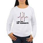 I Get Off On Tangents Women's Long Sleeve T-Shirt
