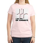 I Get Off On Tangents Women's Light T-Shirt