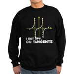 I Get Off On Tangents Sweatshirt (dark)